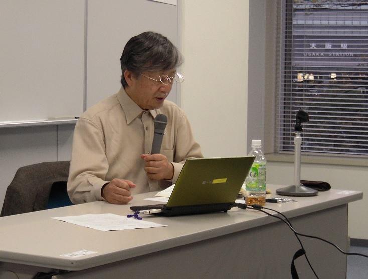 上杉聰氏の写真